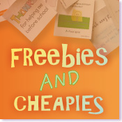 Freebies and Cheapies